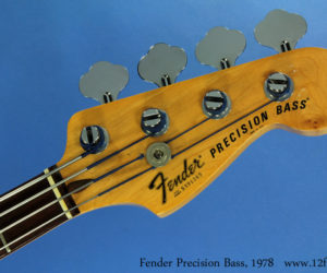 Fender Precision Bass, 1978 (consignment) SOLD