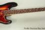 NO LONGER AVAILABLE!!! 1966 Fender Precision Bass Sunburst