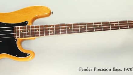 Fender-Precision-Bass-1970s-Neck-Full-Front-View