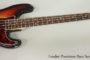 1973 Fender Precision Bass Sunburst  SOLD
