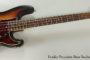 1967 Fender Precision Bass Sunburst  SOLD