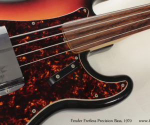 1970 Fender Fretless Precision Bass No Longer Available
