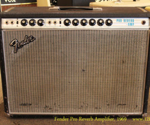 SOLD!!! 1969 Fender Pro Reverb Amplifier