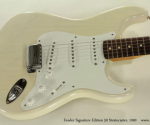 1990 Fender Signature Edition 59 Stratocaster  SOLD