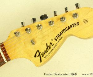 1969 Sunburst Fender Stratocaster (consignment)  SOLD