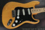 Fender Stratocaster Natural 1973  (consignment) SOLD