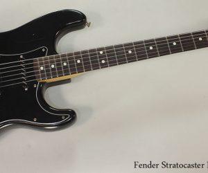 1979 Fender Stratocaster Black (SOLD)
