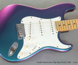 1995 Fender Stratocaster Flip Flop Finish (consignment)  SOLD