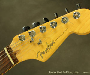 1999 Fender Hardtail Stratocaster (consignment) No Longer Available