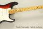 SOLD!! 1975 Fender Stratocaster Hardtail Sunburst