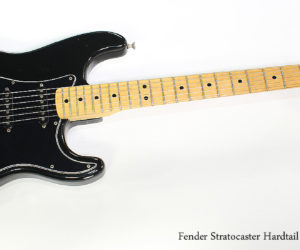 SOLD!!! 1976 Fender Stratocaster Hardtail Black