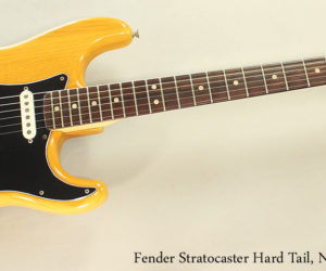 1975 Fender Stratocaster Hard Tail, Natural