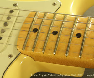 2001 Fender Yngwie Malmsteen Signature Strat (consignment)  SOLD