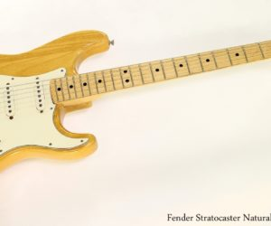 Fender Stratocaster Natural Finish, 1972