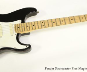 ❌SOLD❌ Fender Stratocaster Plus Maple and Black, 1991