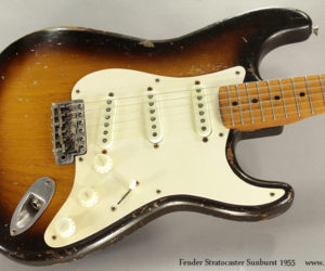 1955 Sunburst Fender Stratocaster  (consignment)  SOLD