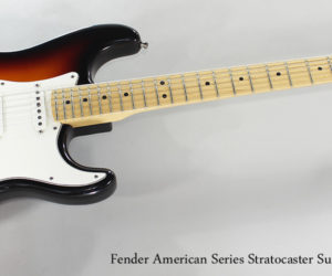 ❌SOLD❌ 2000 Fender American Series Stratocaster Sunburst