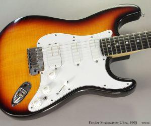 1993 Fender Stratocaster Ultra Sunburst SOLD