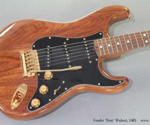 1983 Fender Strat Walnut  SOLD
