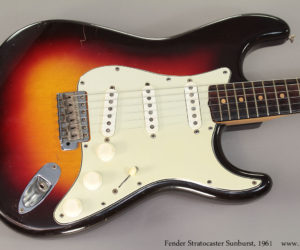SOLD!!  1961 Fender Stratocaster Sunburst
