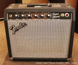 1983 Fender Super Champ Amplifier (SOLD)
