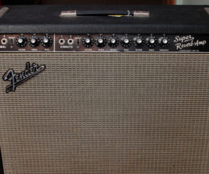 Blackface 1965 Fender Super Reverb Amplifier SOLD