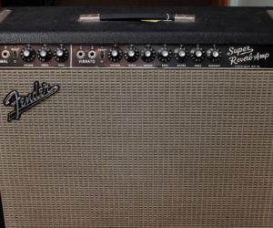 Blackface 1965 Fender Super Reverb Amplifier SOLD
