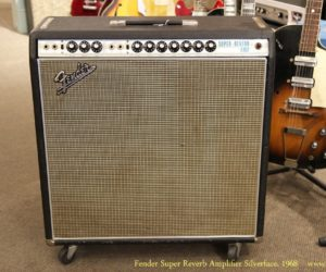 Fender Super Reverb Amplifier Silverface, 1968
