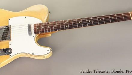 Fender-Telecaster-Blonde-1966-Full-Front-View