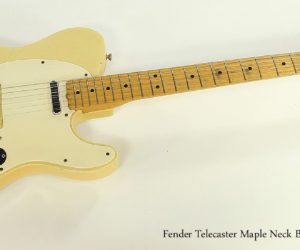 1966 Fender Telecaster Maple Neck Blonde