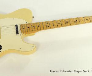 Fender Telecaster Maple Neck Blonde, 1966