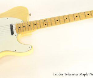 Fender Telecaster Blonde Maple Neck, 1973