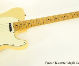 Fender Telecaster Maple Neck Blonde, 1966