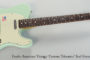 2006 Fender American Vintage 'Custom Telecaster' Surf Green  SOLD