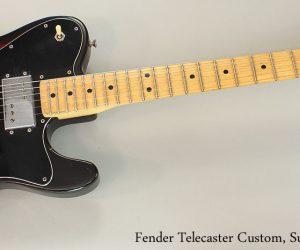 1975 Fender Telecaster Custom Sunburst  SOLD
