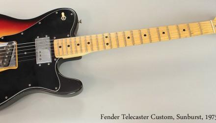 Fender-Telecaster-Custom-Sunburst-1975-Full-Front-View