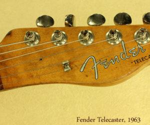 Fender Telecaster 1963  NO LONGER AVAILABLE