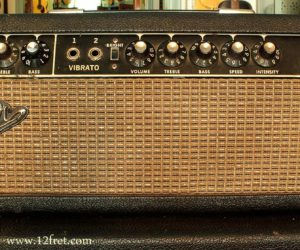 Fender Blackface Tremolux amp 1966 (consignment) No Longer Available