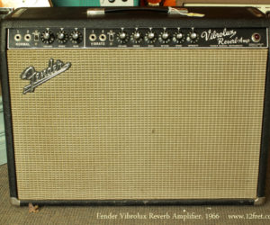 1966 Blackface Fender Vibrolux Reverb Amplifier (consignment) SOLD