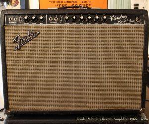 SOLD!!! 1966 Fender Vibrolux Reverb Amplifier