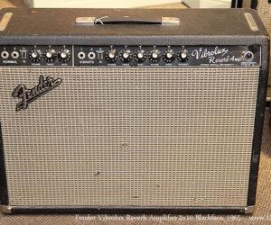 NO LONGER AVAILABLE!!! Fender Vibrolux Reverb Amplifier 2x10 Blackface, 1965