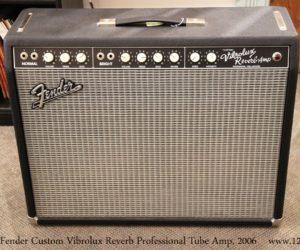 Fender Custom Vibrolux Reverb Professional Tube Amp, 2006