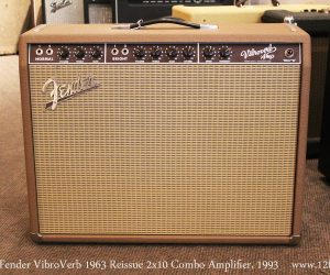 1993 Fender VibroVerb 1963 Reissue 2x10 Combo (SOLD)