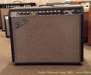 2003 Fender Vibroverb Amp (SOLD)