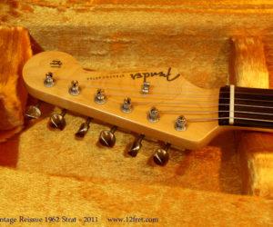 Fender Stratocaster '1962 Vintage Reissue' 2011  SOLD
