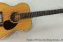 1981 Franklin OM Koa Steel String  SOLD