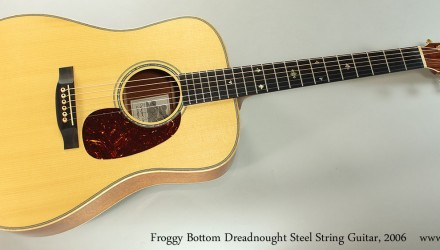 Froggy-Bottom-Dreadnought-Steel-String-Guitar-2006-Full-Front-View