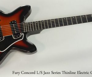 SOLD!!! 1974 Fury Concord L-S Jazz Series Thinline Electric Guitar
