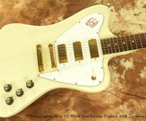 2008 Gibson CS Non-Reverse TV White Firebird (consignment)  SOLD