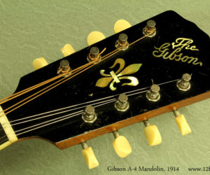 Gibson A-4 Mandolin 1914 (consignment) Sold